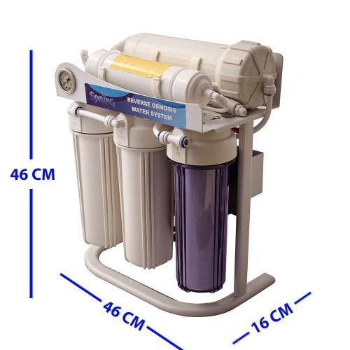 Spring Water Tanksız Günde 1 Ton Su Arıtma Cihazı
