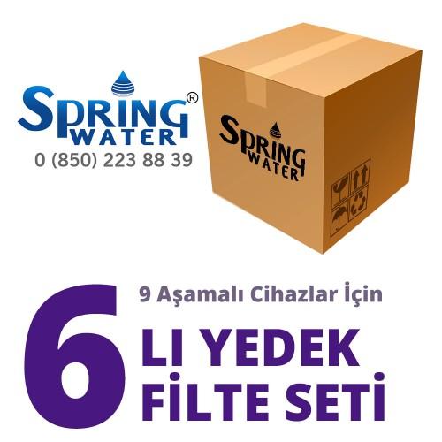 Spring Water 6 lı Filtre Seti ( 9 Aşamalı Modeller için )