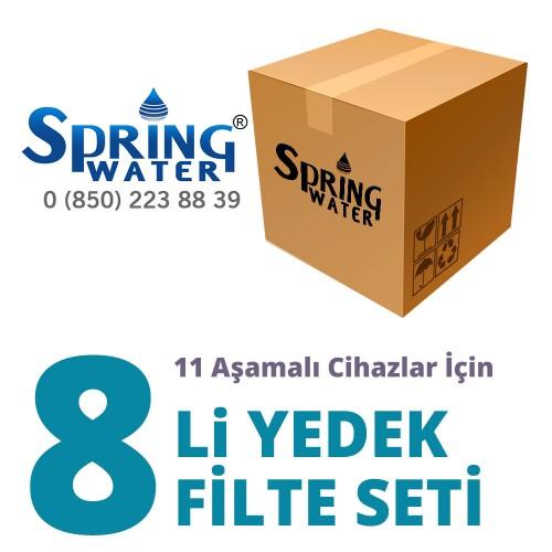 Spring Water 8 li Filtre Seti ( 11 Aşamalı Modeller için )