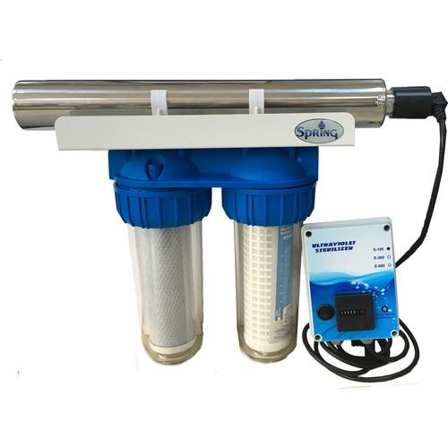 Spring Water Ultra Ev Ana Giriş Su Arıtma Sistemi - Virüs ve Bakteriyi Yok Eder