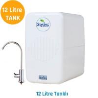 Spring Water 11 Aşamalı Su Arıtma Cihazı - Su Kaçağı Sensörlü 12 litre Tanklı